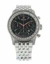 Breitling Montbrillant Acero Inoxidable Automático 37mm Reloj para hombres A41370