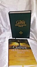 The New King James THE GAITHER HOMECOMING BIBLE Full Text All Black Text