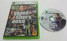 Grand Theft Auto IV (Xbox 360, 2008) No Manual 1 Player
