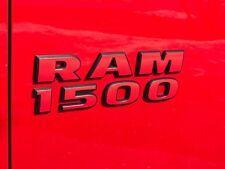 Ram 1500 Door Badge Overlay Decals for 2015-2018 Ram Rebel and 2019-2020 Warlock