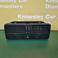 Volkswagen bora MK1 (04) centre tableau de bord évents hazard/esp/chaleur fenêtre commutateur