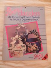 Bow Dazzlers, 39 Charming Bows & Baskets for Today's Decorator Look, #9399 Plaid
