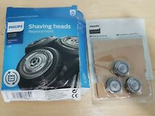 NEW Phillips Shaving Heads Replacement Series 5000 6000 SH50/50 Pack 3