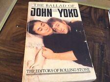 The ballad of John and Yoko paperback book