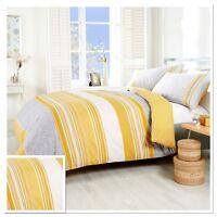 Rapport Havana Ochre Yellow Geometric Paisley Duvet Cover Bedding Set