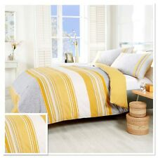 Rapport Havana Geometric Paisley Duvet Cover Bedding Set Ochre Yellow