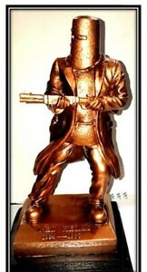 Ned Kelly Statue / Figurine Copper Colour 25cm High. 4cm Larger and Wider