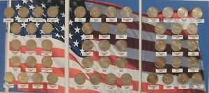 1999~2008 State Quarters Clad ~ Complete 50 Coins US Mint Collector Gift Set