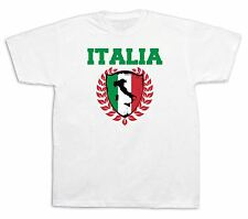 Italy Flag italia tourist boot spots city sites t shirt funny casual tee