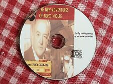 Rex Stout : NERO WOLFE - 25 Radio Shows 1943-51   Mp3 CD Format OTR