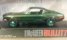 GREENLIGHT 1/43 BULLITT 1968 FORD MUSTANG GT FASTBACK RARE CHASE/GREEN WHEELS!