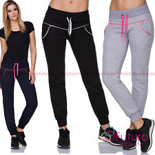 Womens Warm Thick Pants Sports Full Length Fitness Running  Joggers FZ125