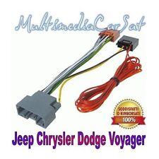 PHONOCAR 4/745 CAVO ISO AUTORADIO CHRYSLER JEEP DODGE