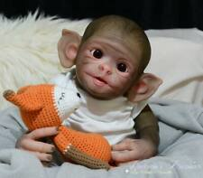 """BRAND NEW Reborn Doll Kit """"Cheeky Monkey"""" Realistic Fake Baby girl NOT SILICONE"""