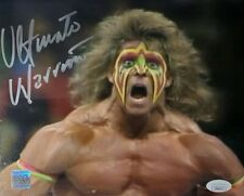 Ultimate Warrior WWE Authentic Signed 8x10 Photo w/ JSA COA WICKED!! OWN!!
