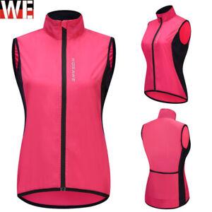 Ladies Woman Vest Quick Dry Sleeveless Cycling Tank Top Bike Vest Riding Gilet