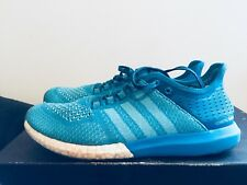 2015 Mens Adidas Cosmic Cool Boost Low Blue White Size 8 Used Rare NDS Running