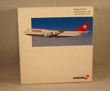Swissair n° 503907 1/500 avion Boeing 747 357  Swissair neuf en boite