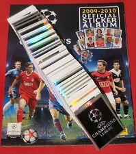 Panini komplett Champions League 09/10 + Album Leeralbum alle Sticker 2009/2010