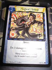 HARRY POTTER TRADING CARD GAME TCG BASIC MAGICAL MISHAP 95/116 COM ENGLISH MINT
