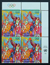 NATIONS-UNIS (New-York) timbre/stamp Yvert et Tellier n°704 x 4 n** (Cyn14)