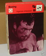 Ingemar Johansson SWEDENS World C Boxe Carte de collection
