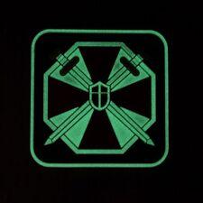 Luminous Resident Evil Umbrella Corporation UBCS 3D PVC Patch Small