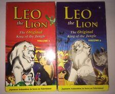 Leo The Lion VHS Vol 1 & 3 Sealed! Brand New! Anime