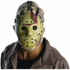 Jason Double Mask Costume Mask Adult Friday the 13th Halloween