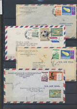 XC47884 Haiti airmail covers with nice cancels used