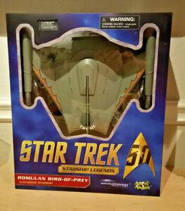 Star Trek TOS 50th Anniversary Diamond Select Romulan Bird of Prey Starship
