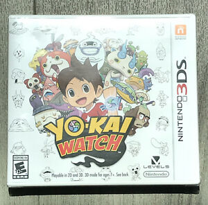 Yo-Kai YOKAI Watch (Nintendo 3DS, 2015) Brand New! STILL SEALED! FREE SHIPPING!