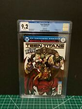 CGC 9.2 Teen Titans 12 11/17 1st Full Appearance Batman Who Laughs Cover B