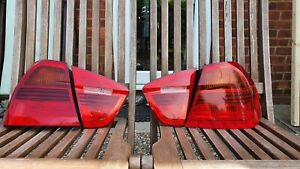 BMW 3 SERIES E90 05-09 REAR TAIL LIGHTS INNER OUTER DRIVER RIGHT+ PASSENGER LEFT