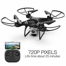 Four-axis aircraft, drop-resistant remote-control aerial drone,black