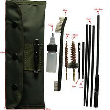 10pcs .22 22LR .223 556 Air Rifle Gun Cleaning Kit Set Cleaning Rod Nylon Brush