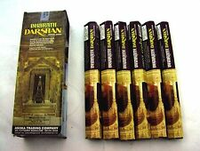 FREE SHIPPING DARSHAN INCENSE 6 HEXAGONALS BOXES 120 STICKS BHARATH SCENT
