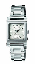 Casio Women's Quartz Dress Silver-Tone Bracelet 21mm Watch LTP1237D-7A
