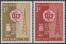 VIETNAM du SUD N°259/260** UIT, 1965 South Viet Nam #253-254 ITU MNH