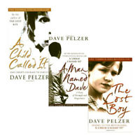 Dave Pelzer Collection 3 Books Set Pack A Child Called it, A Man Named Dave NEW