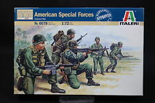 XU170 ITALERI 1/72 figurine 6078 American Special Forces Vietnam War Forces Spéc