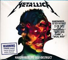 Metallica Hardwired to Self-Destruct 2-disc CD NEW Atlas, Rise Dream no More