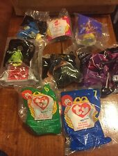 McDonalds Happy Meal Toys - Sealed in Bags - 1998, 2001, 2002 8 Total