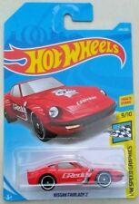 Hot Wheels Nissan Fairlady Z - red