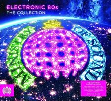 ELECTRONIC 80'S THE COLLECTION MINISTRY OF SOUND 4 CD SET VARIOUS ARTISTS (2017)