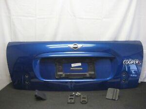 2005-2008 MINI COOPER S CONVERTIBLE OEM REAR TRUNK LID HATCH BODY PANEL BLUE