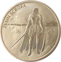 2019 South Korea Zi:SIN Scrofa 1 oz Silver Medal GEM BU SKU57452