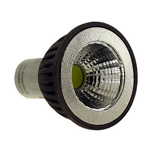 GU10 COB LED BULB 3W WITH CLEAR GLASS COVER COOL WHITE WARM WHITE DIMMABLE