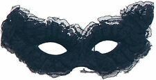 Black Venetian Fancy Dress Lace Mask Masquerade Ball Party Eye Costume Halloween
