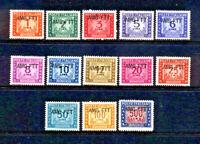 Italy-Trieste #J16-29 Mint O.G.     Catalog $150.45